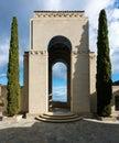 Wrigley memorial and botanic gardens on Catalina Island Royalty Free Stock Photo