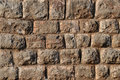 Solid stone wall Stock Photos