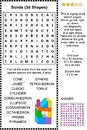 Solids word search puzzle