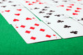 Solitaire closeup Stock Image