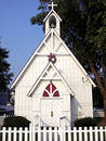 Solomons Island Church Royalty Free Stock Images