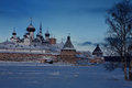 Solovetsky monastery. Royalty Free Stock Photo
