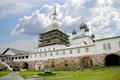 Solovetsky monastery building of ancient friary on an island solovki Royalty Free Stock Photos