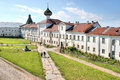 Solovki monastery complex of the friary a operating Stock Photography