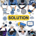 Solution Problem Solving Ideas Strategy Concept Royalty Free Stock Photo