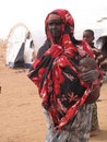 Somalia Hunger Refugee Camp Royalty Free Stock Photos