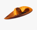 Sombrero straw hat Stock Image