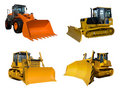 Some dozers Stock Photography