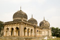 Some of the historic qutub shahi tombs built during the mughal empire in golconda hyderabad andhra pradesh Stock Image