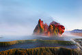 Sometimes We Fly, Fly Geyser Royalty Free Stock Photo