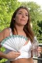 Sommer-Hitze Stockbild