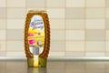 Sommer honey in bottle Royalty Free Stock Photo