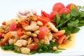 Somtum Thai food Stock Photography