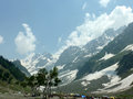 Sonamarg valley, Kashmir Royalty Free Stock Photo