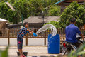 Songkran day Royalty Free Stock Photography