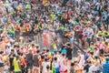 Songkran Water Festival in Bangkok, Thailand Royalty Free Stock Photo