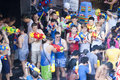 Songkran or water festival in thailand bangkok apr revelers during on apr bangkok the has long been observed as new Royalty Free Stock Images