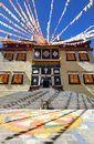 Songzanlin Temple also known as the Ganden Sumtseling Monastery, is a Tibetan Buddhist monastery in Zhongdian city Shangri-La, Y Royalty Free Stock Photo