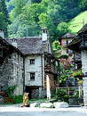Sonogno - Verzasca-valley Royalty Free Stock Photo