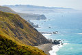 Sonoma coast state beach spring waves Stock Photo