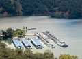 Sonoma Lake Marina Royalty Free Stock Photo