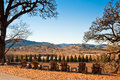 Sonoma landscape in county ca Stock Photography