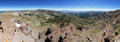 Sonora pass panorama of the region of the sierra nevada mountains Stock Photo
