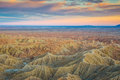 Sonoran Desert Badlands Royalty Free Stock Photo