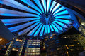 Sony-Center in Berlin Stock Photography
