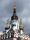 Soothe my scorows church urban architecture of the city of saratov Royalty Free Stock Image
