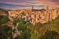 Sorano, Grosseto, Tuscany, Italy Royalty Free Stock Photo