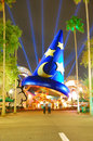 Sorcerer s hat in hollywood studios orlando Royalty Free Stock Images