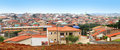 Sorocaba suburbs panoramic view of city in brazil Stock Photography