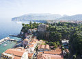 Sorrento a scenic view from italy Stock Photos