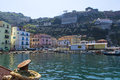Sorrento view of amalfi coast italy Stock Photos