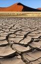 Sossusvlei - Namib Desert - Namibia Royalty Free Stock Photo