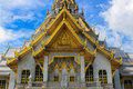 Sothorn temple in chachoengsao thailand beautiful Royalty Free Stock Photography