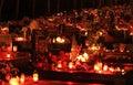 Souls day ruzomberok slovakia november at cemetery in town ruzomberok on november in ruzomberok Stock Images