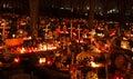 Souls day ruzomberok slovakia november at cemetery in town ruzomberok on november in ruzomberok Royalty Free Stock Photos