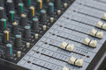 Sound board Mixing console Royalty Free Stock Photography