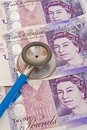 A sound currency: the  Pound Sterling. Stock Photography