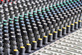 Sound Engineer Control Desk Royalty Free Stock Photo