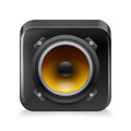 Sound icon Royalty Free Stock Photo