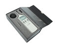Sound level meter in box with clipping path Royalty Free Stock Images