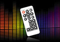 Sound level remote Royalty Free Stock Photo