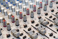 Sound mixer Royalty Free Stock Images