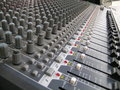 Sound Mixing Board Stock Images