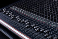 Sound Mixing Board Royalty Free Stock Photo