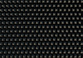 Sound proof foam a d rendering of a section of grey patterned Stock Photography