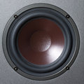 Sound speaker close up round Royalty Free Stock Photos